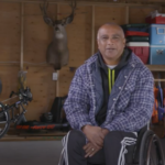 Anand is Paraplegic, but that hasn't stopped him from pursuing the hunt