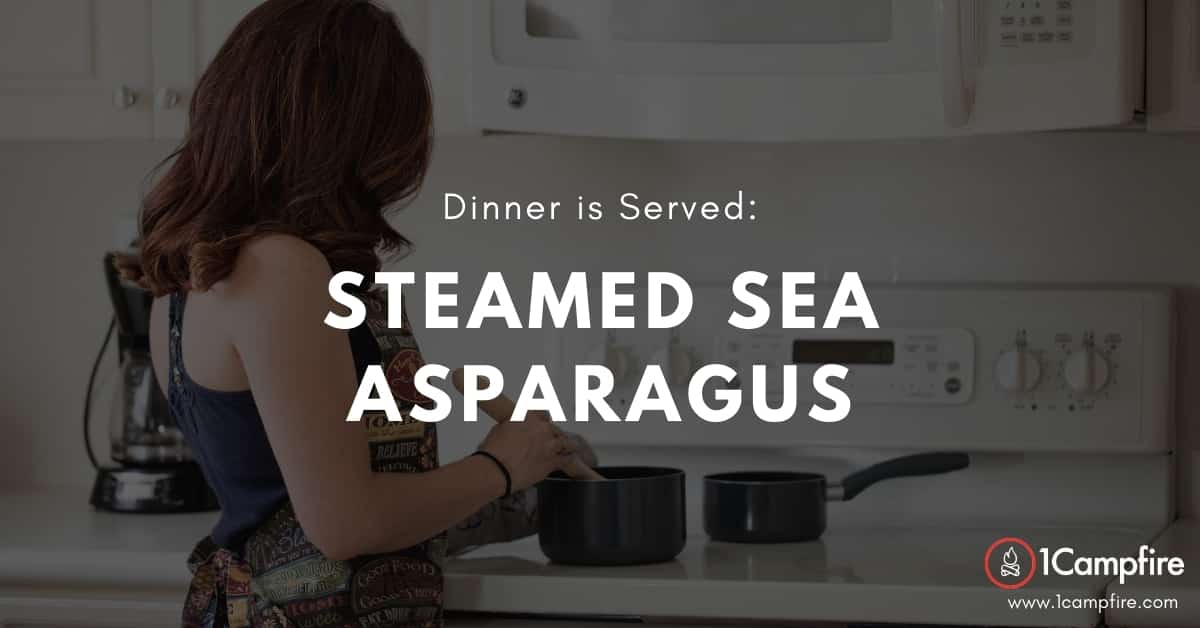 Resourceful & Delicious: Steamed Sea Asparagus