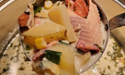 Trout and Clam Chowder Soup – A delicious take on a classic dish
