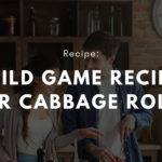 Wild game recipe for cabbage rolls