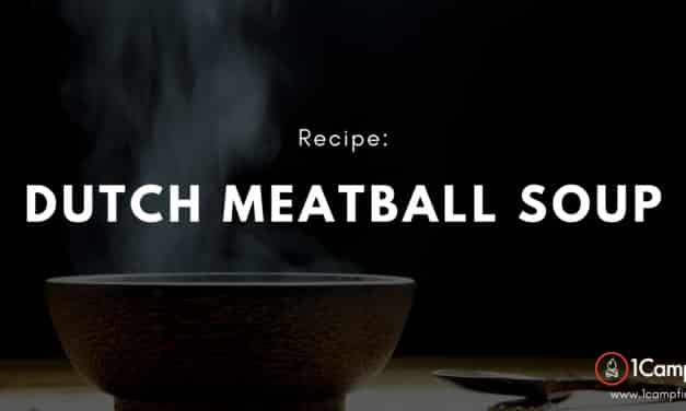 Dutch Meatball Soup – Not Your Mama's Soup!