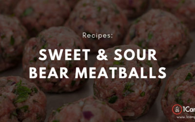 Sweet and Sour Bear Meatballs Recipe